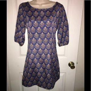🔥KLD Signature silky blue career dress